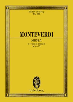 Monteverdi, C: Messa Nr. II in F M xv, 59