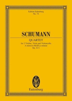 Schumann, R: String Quartet A minor op. 41/1