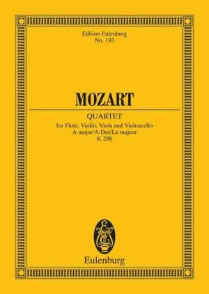Mozart, W A: Quartet A major KV 298