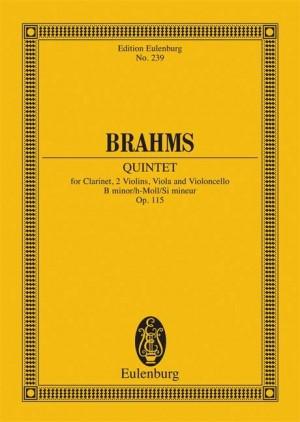 Brahms, J: Clarinet Quintet B minor op. 115