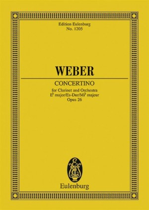 Weber: Concertino Eb major op. 26 JV 109