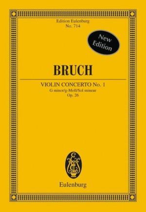 Bruch, M: Violin Concerto No. 1 G minor op. 26