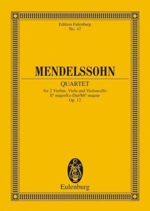 Mendelssohn: String Quartet Eb major op. 12