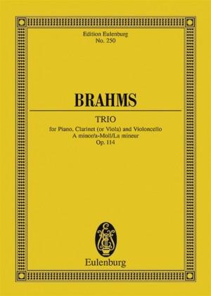 Brahms, J: Trio A minor op. 114