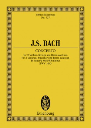 Bach, J S: Double Concerto D minor BWV 1043 Product Image