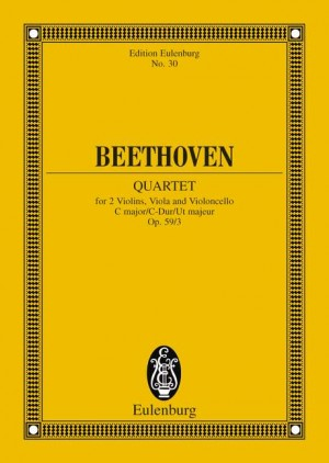 Beethoven, L v: String Quartet C major op. 59/3
