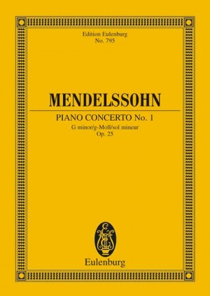 Mendelssohn: Concerto No. 1 G minor op. 25
