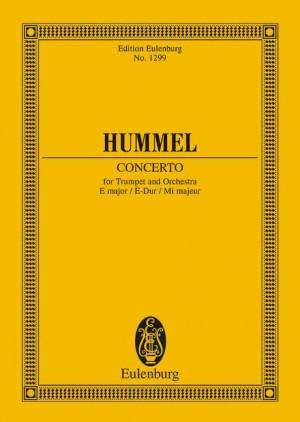 Hummel, J N: Concerto E major