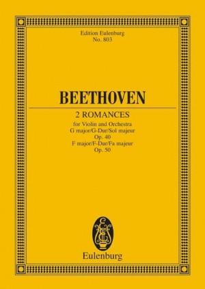 Beethoven, L v: 2 Romances G major and F major op. 40 / op. 50