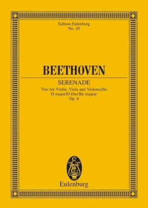 Beethoven, L v: String Trio D major op. 8