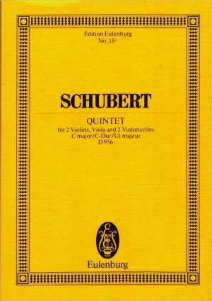 Schubert, F: String Quintet C major op. 163 D 956