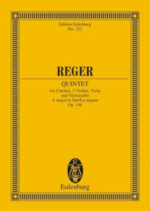 Reger, M: Quintet A major op. 146