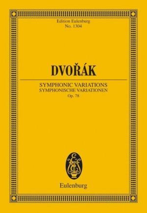Dvorák, A: Symphonic Variations op. 78 B 70