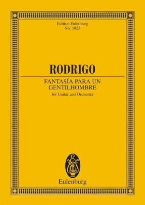 Rodrigo, J: Fantasía para un gentilhombre