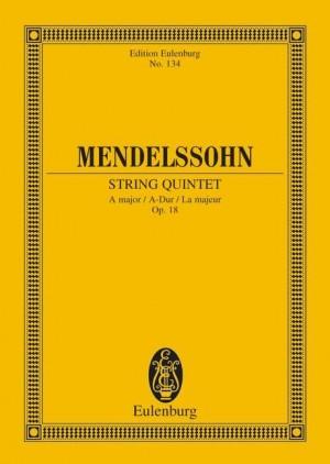 Mendelssohn: String Quintet A major op. 18