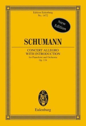Schumann, R: Concert Allegro with Introduction D minor op. 134