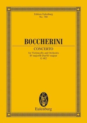 Boccherini, L: Concerto Bb Major G 482