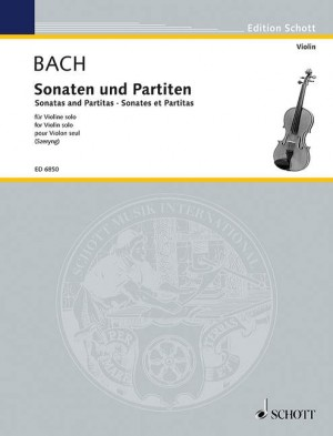 Bach, J S: Sonatas and Partitas Product Image