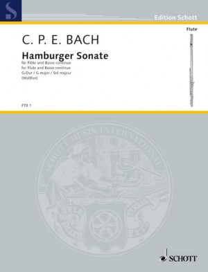 Bach, C P E: Hamburger Sonata G Major Wq 133