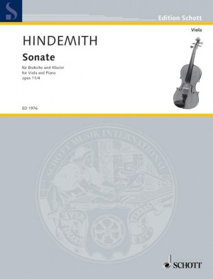 Hindemith, P: Viola Sonata in F op. 11/4 Product Image