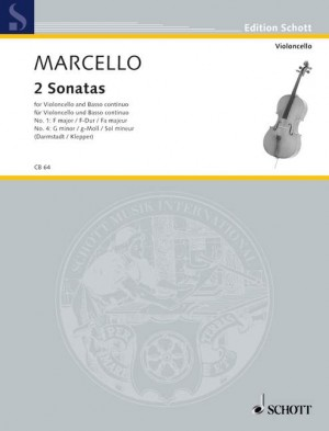 Marcello, B: Two Sonatas