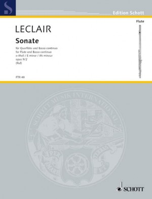 Leclair, J: Sonata E minor op. 9/2