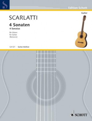 Scarlatti, D: 4 Sonatas