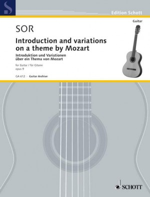 Sor, F: Introduction and variations op. 9