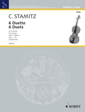 Stamitz, C P: 6 Duette Heft 1