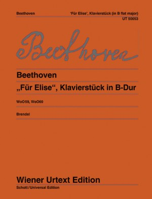 Beethoven, L v: Fur Elise and Piano work in B flat Major WoO 59 and 60
