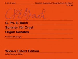 Bach, C P E: Complete Works for Organ Band 1