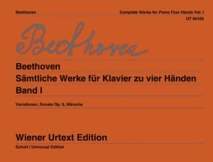 Beethoven: Works for piano for 4 hands