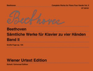 Beethoven, L v: Complete Works for Piano Four Hands op. 134 Band 2