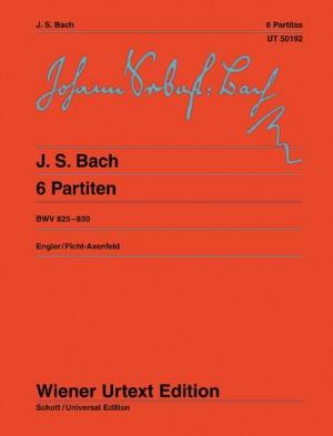 Bach, J S: Six Partitas BWV 825-830