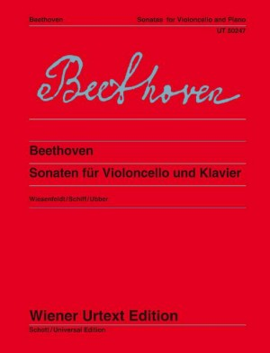 Beethoven, L v: Sonatas for cello and piano