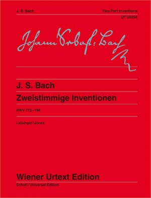 Bach, J S: Two-Part Inventions BWV 772-786