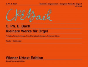 Bach, C P E: Complete Organ Works Band 2