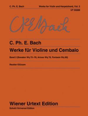 Bach, C P E: Sonatas Band 2