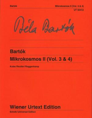 Bartok, B: Mikrokosmos Band 2 (Vol. 3 & 4)