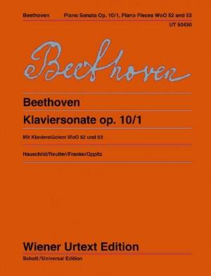 Beethoven, L v: Piano Sonata in C minor op. 10/1