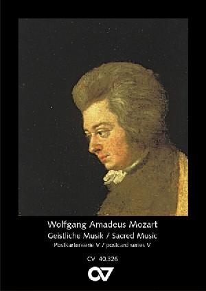 Mozart, Wolfgang Amadeus: Postcard Series 5: Wolfgang Amadeus Mozart - Sacred Music