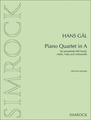 Gál, H: Piano Quartet in A