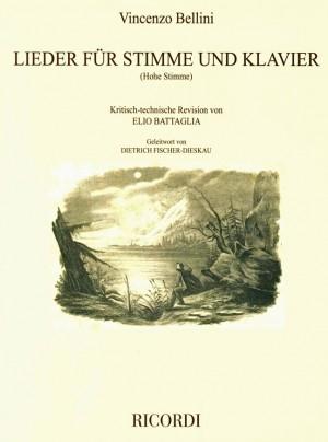 Vincenzo Bellini: Lieder für Singstimme und Klavier