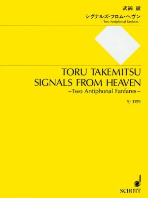 Takemitsu, T: Signals from Heaven