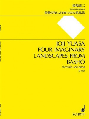Yuasa, J: Four Imaginary Landscapes from Bashô