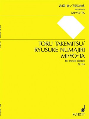 Takemitsu, T: Mi·yo·ta