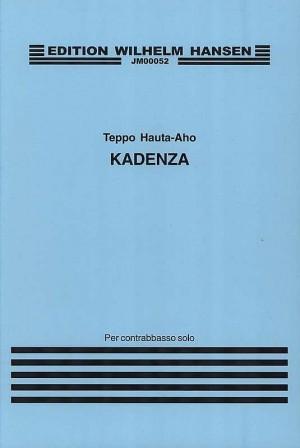 Teppo Hauta-Aho: Kadenza For Double Bass