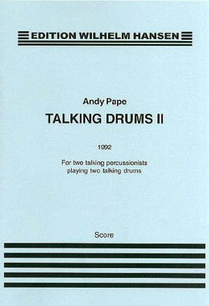 Andy Pape: Talking Drums II