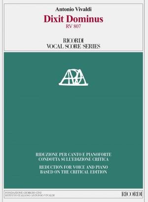 Antonio Vivaldi: Dixit Dominus RV 807 Product Image