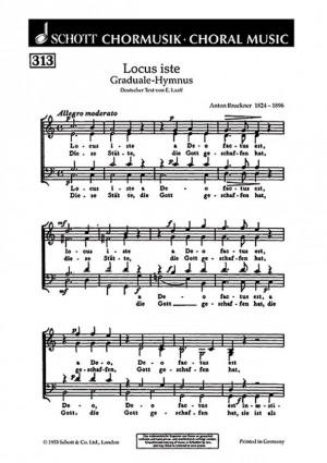 Bruckner, A: Graduale-Hymnus